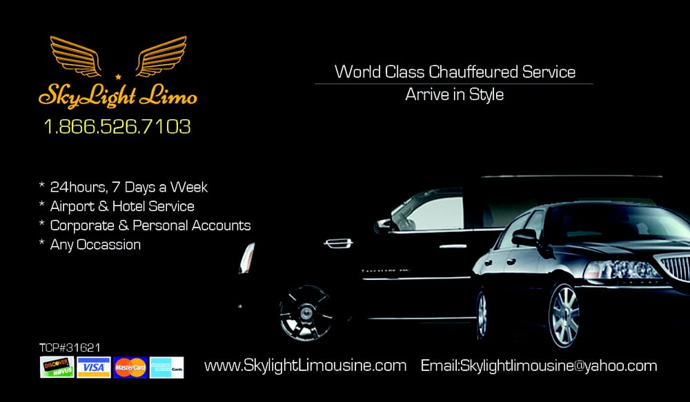 Skylight Limousine: Lathrop, CA