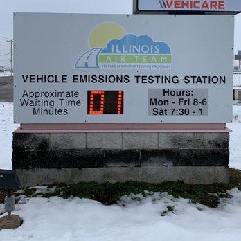 Illinois Emissions Test Near Me >> Illinois Air Team Vehicle Emissions Testing Station Public