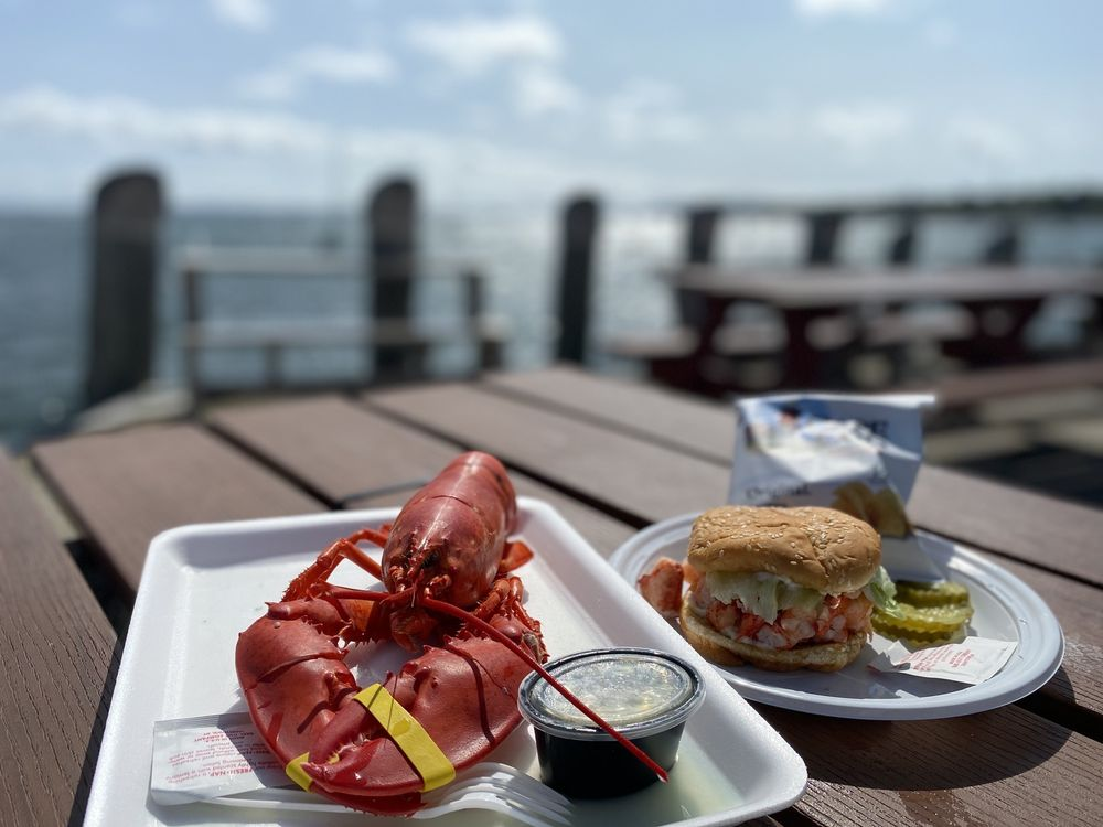 Young's Lobster Shore Pound Wharf: 2 Fairview St, Belfast, ME