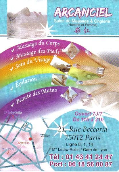 Arcanciel salon de massage chiuso massaggi 21 rue - Salon de massage avec finition a paris ...