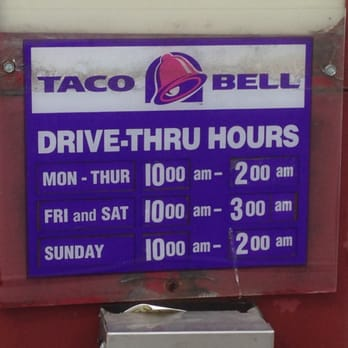 Taco Bell - Mexican - 2802 Jacks Run Rd, McKeesport, PA