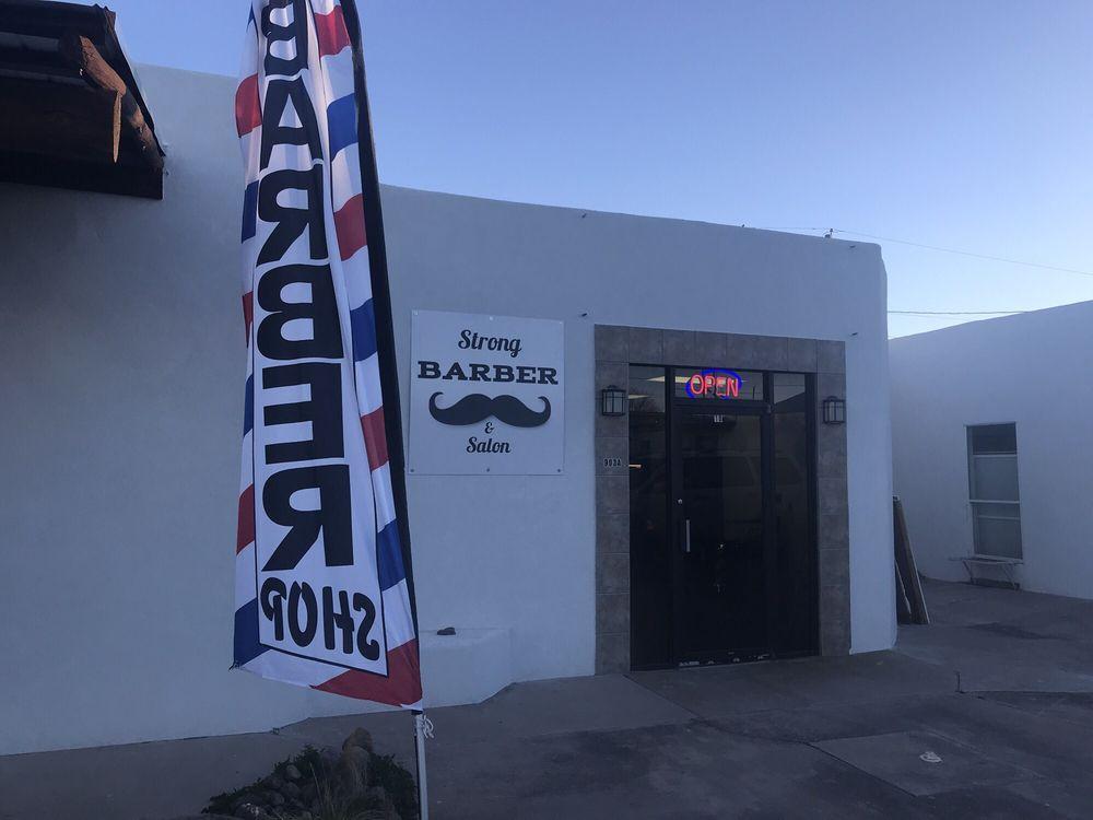 Strong Barber & Salon: 903 W San Antonio St, Marfa, TX