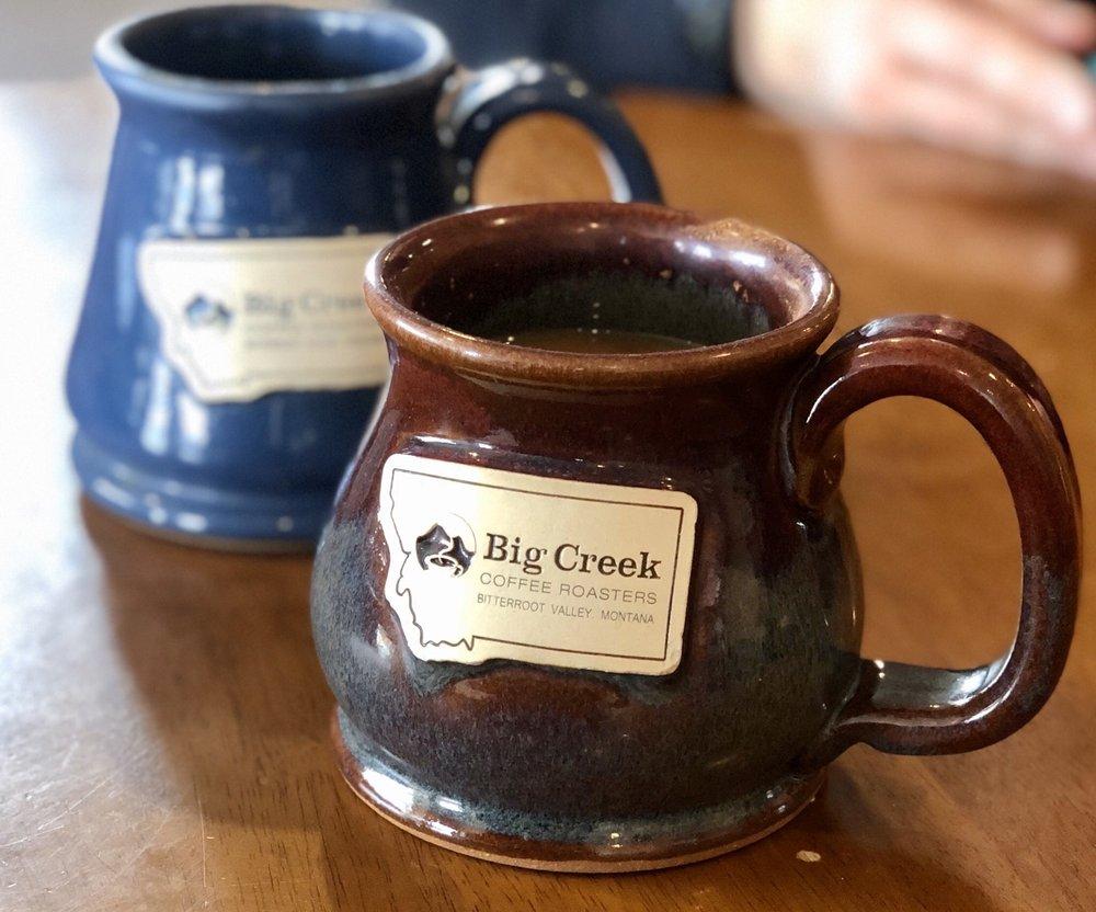 Big Creek Coffee Roasters: 301 W Main St, Hamilton, MT
