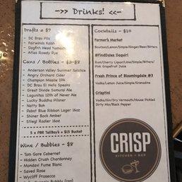 Photos For Crisp Kitchen Bar Menu Yelp