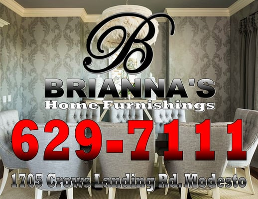 Briannau0027s Home Furnishings 1705 Crows Landing Rd Modesto, CA Furniture  Stores   MapQuest