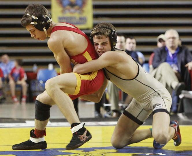 Apex Wrestling School's Nick Suriano wrestling  Nick is an