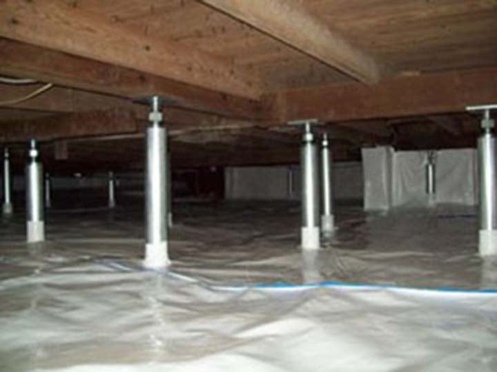 Absolute waterproofing solutions waterproofing 120 n Crawl space flooring