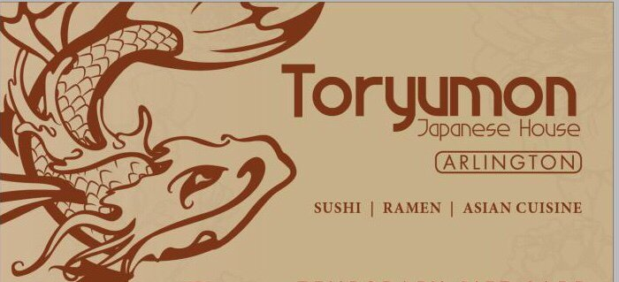 Food from Toryumon Japanese House