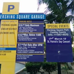 Ampco system parking world trade center los angeles