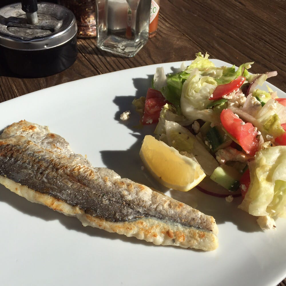 Whiting and greek salad yelp for Whiting fish florida