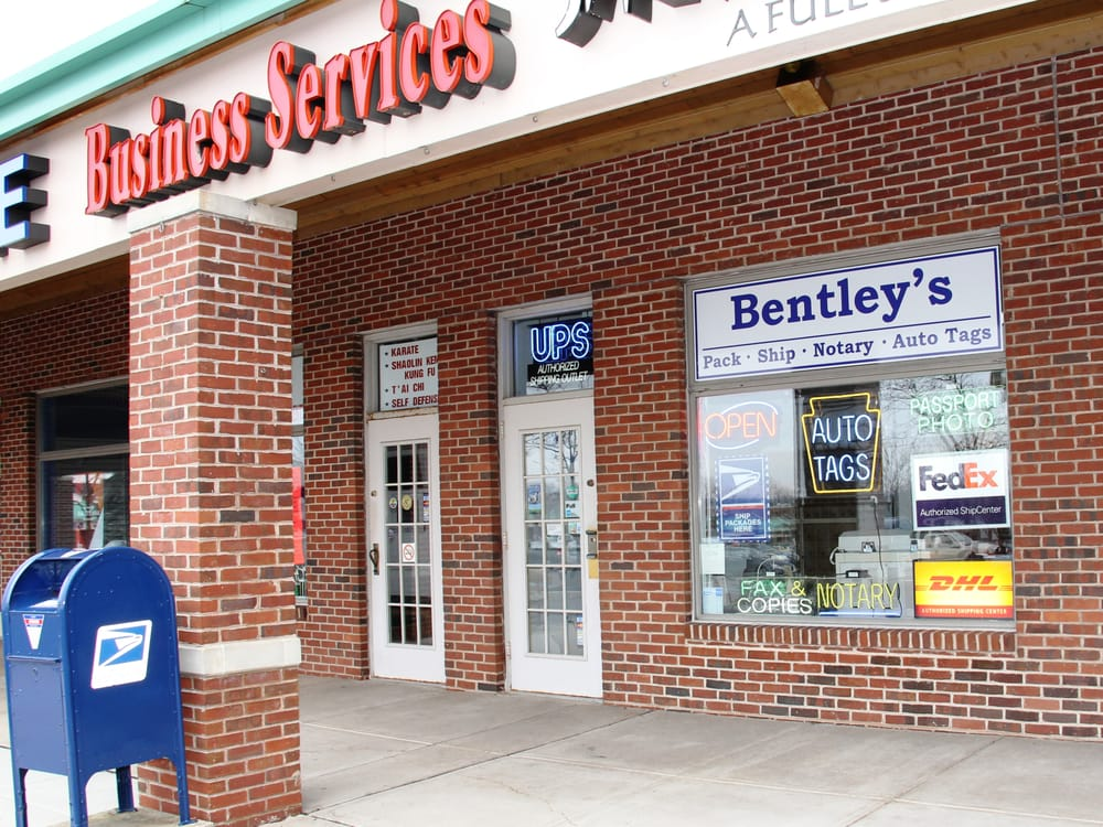 Bentley's Pack Ship Notary & Auto Tags: 4275 County Line Rd, Chalfont, PA