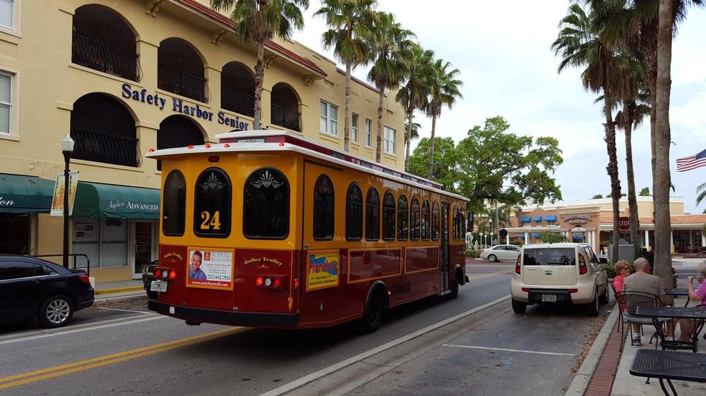 Jolley Trolley Transportation: 410 N Myrtle Ave, Clearwater, FL