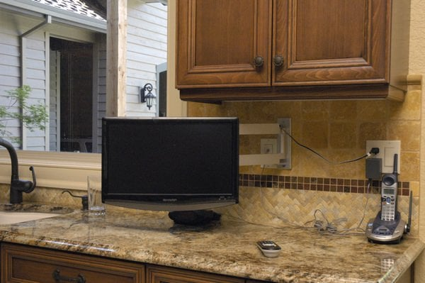 photo of cedar mill home theater portland or united states small kitchen - Small Tv For Kitchen