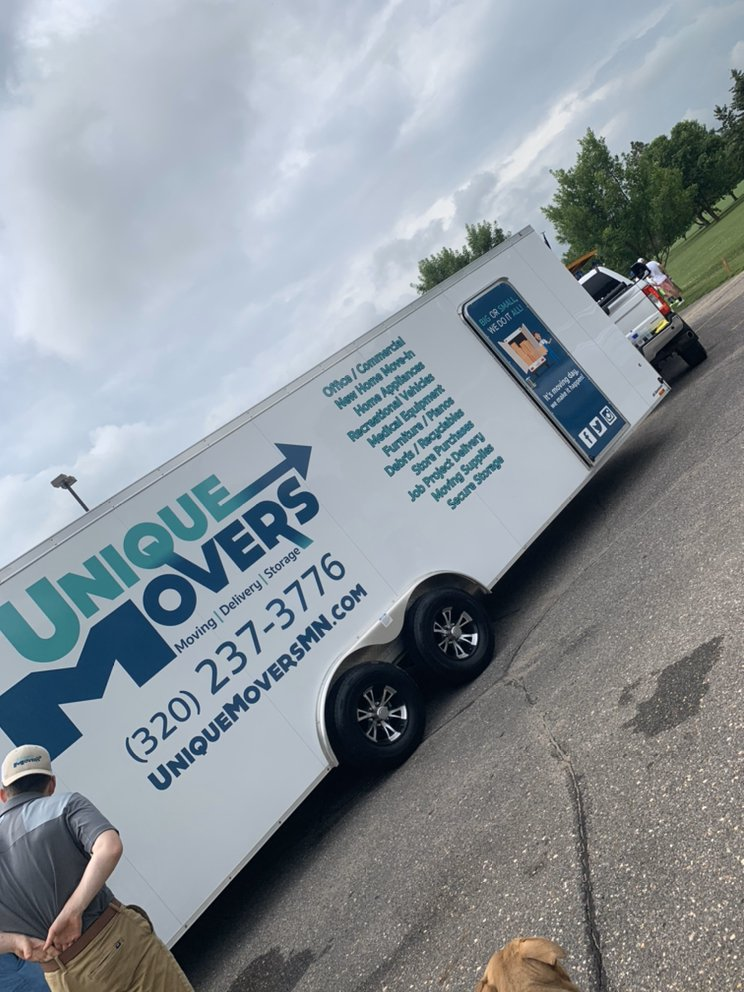 Unique Movers: 442 66th St NW, Sauk Rapids, MN