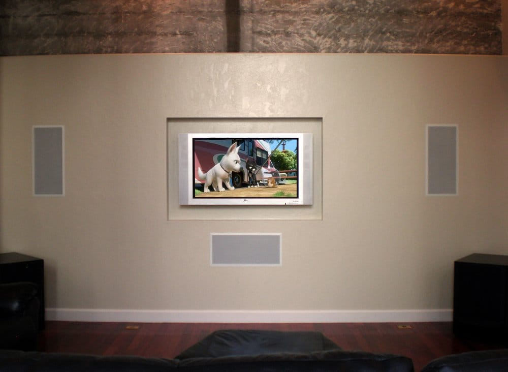 Flat Screen Tv With In Wall Speakers Yelp