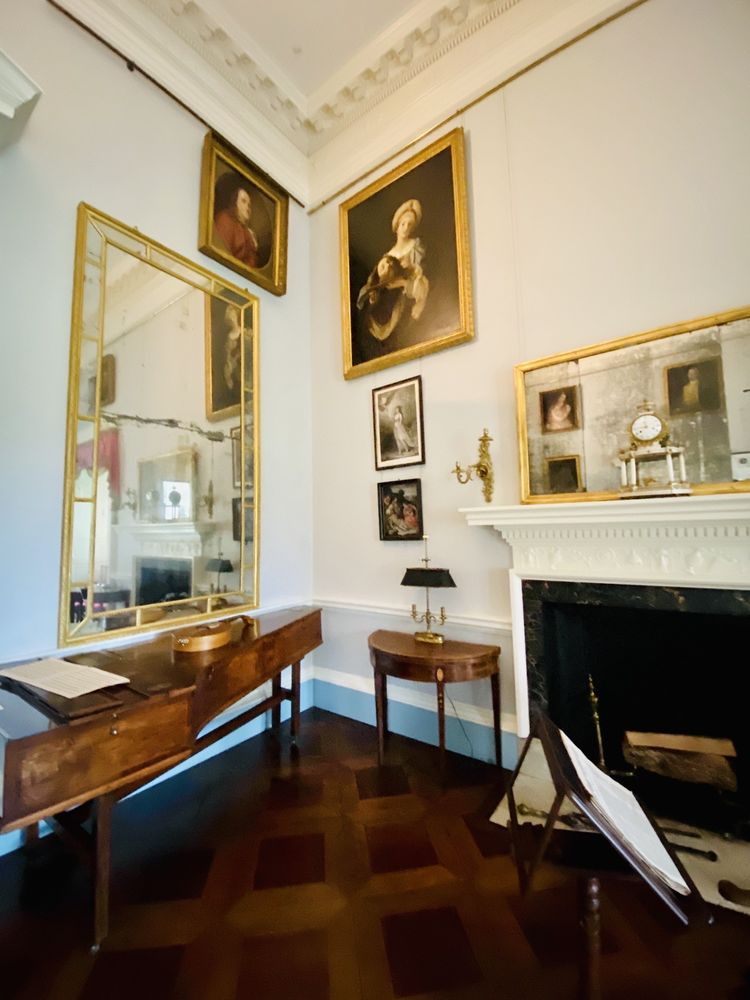 Social Spots from Thomas Jefferson's Monticello