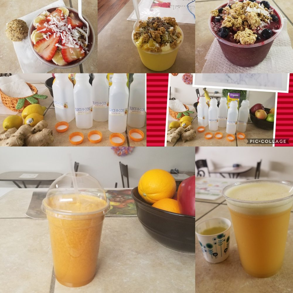Food from Juice-B-Cos