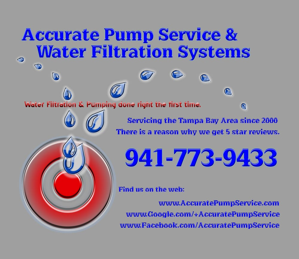 Accurate Water Filtration & Pump Service: Wimauma, FL