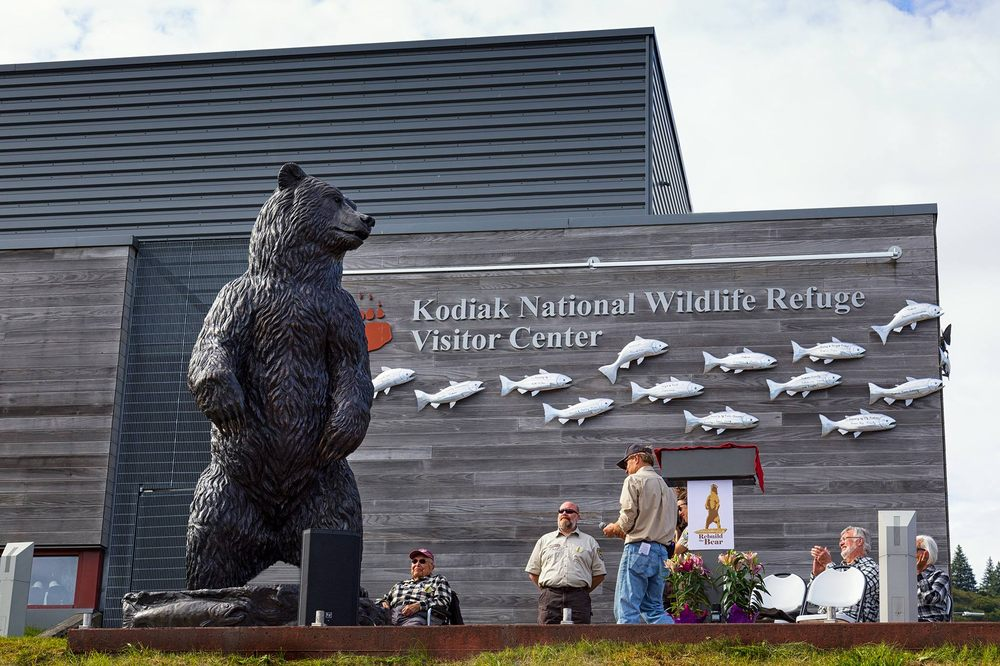 Kodiak Refuge Visitor Center: 402 Center Ave, Kodiak, AK