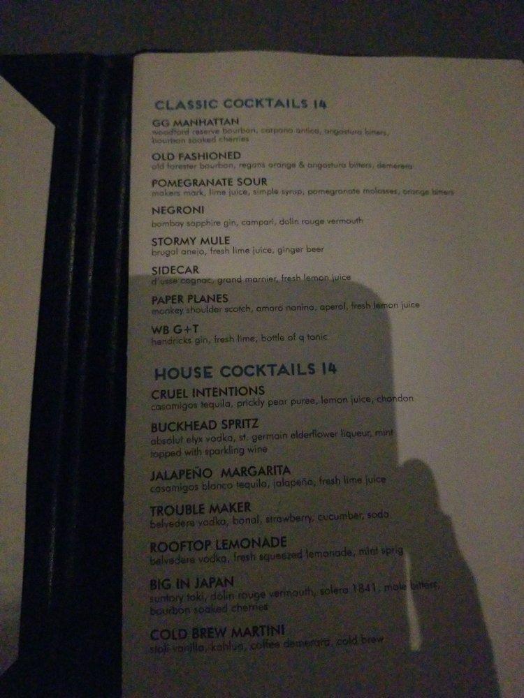 Whiskey Blue: 3377 Peachtree Rd NE, Atlanta, GA