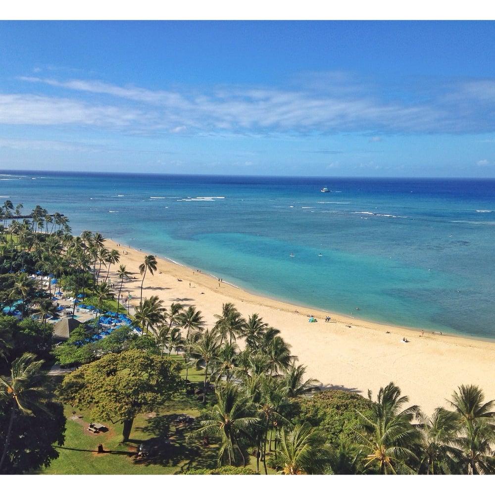 Hilton Hawaiian Village Waikiki Beach Photo Gallery: View From The Ali'i Tower. Breathtaking!