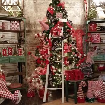Photo Of The Painted Sofa   Kansas City, MO, United States. Christmas  Decorations
