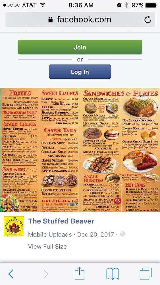 The Stuffed Beaver