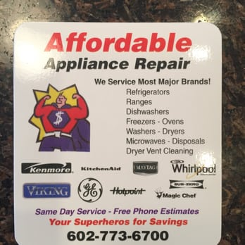 Affordable Appliance Repair Group 34 Reviews