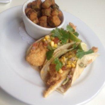 Soho south cafe 232 photos 193 reviews american for Flounder fish tacos