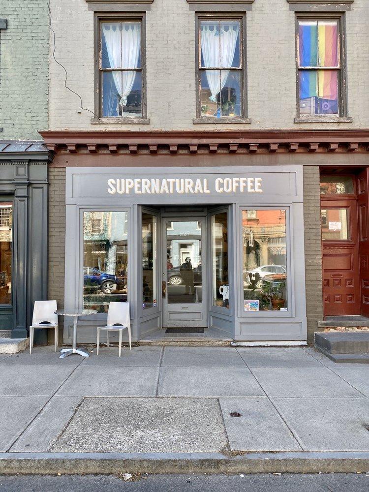 Supernatural Coffee: 527 Warren St, Hudson, NY