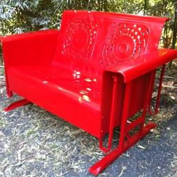 photo of austin pallet furniture austin tx united states restored vintage glider