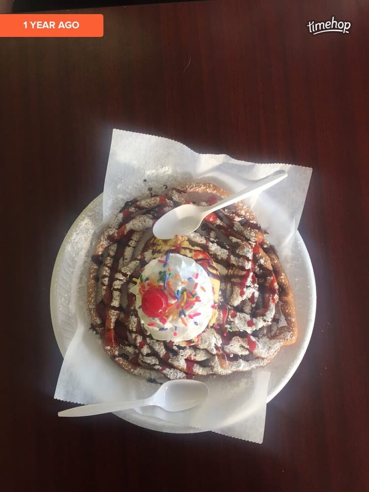 Funnel Cake Sundae Yall Yelp
