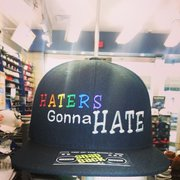 Support the Troops Photo of Lids - Hayward, CA, United States. Custom PRIDE Embroidery  hat ...