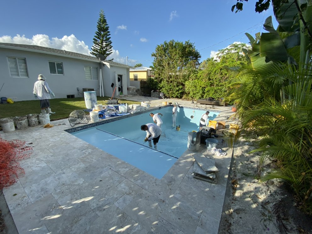 Florida Pool Patio