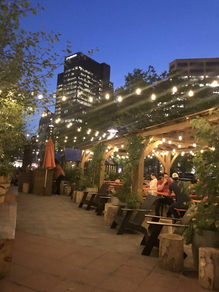 Cadillac Square Beer Garden: 165 E Congress St, Detroit, MI