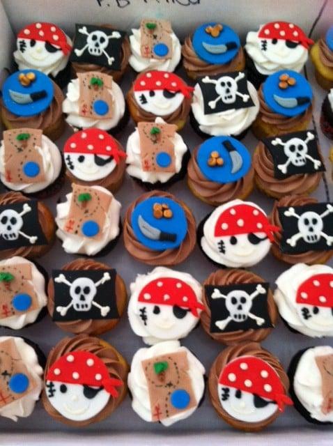 Cake Art In Salisbury Md : Pirate cupcakes! Ahoy ! - Yelp