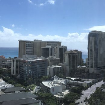 Photo of Holiday Inn Express Waikiki - Honolulu, HI, United States. Our view