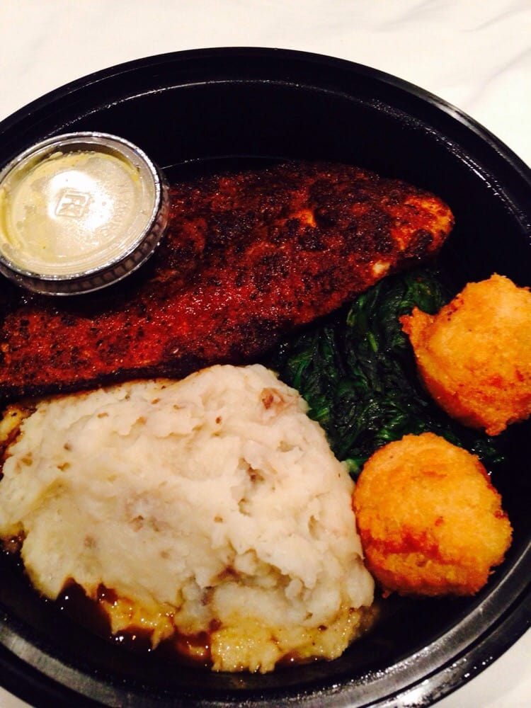 Blackened cat fish take out yelp for Bourbon street fish
