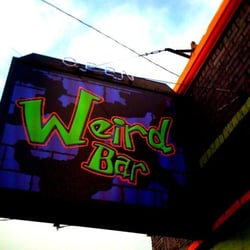 Photo of Weird Bar - Portland, OR, United States. The new business sign