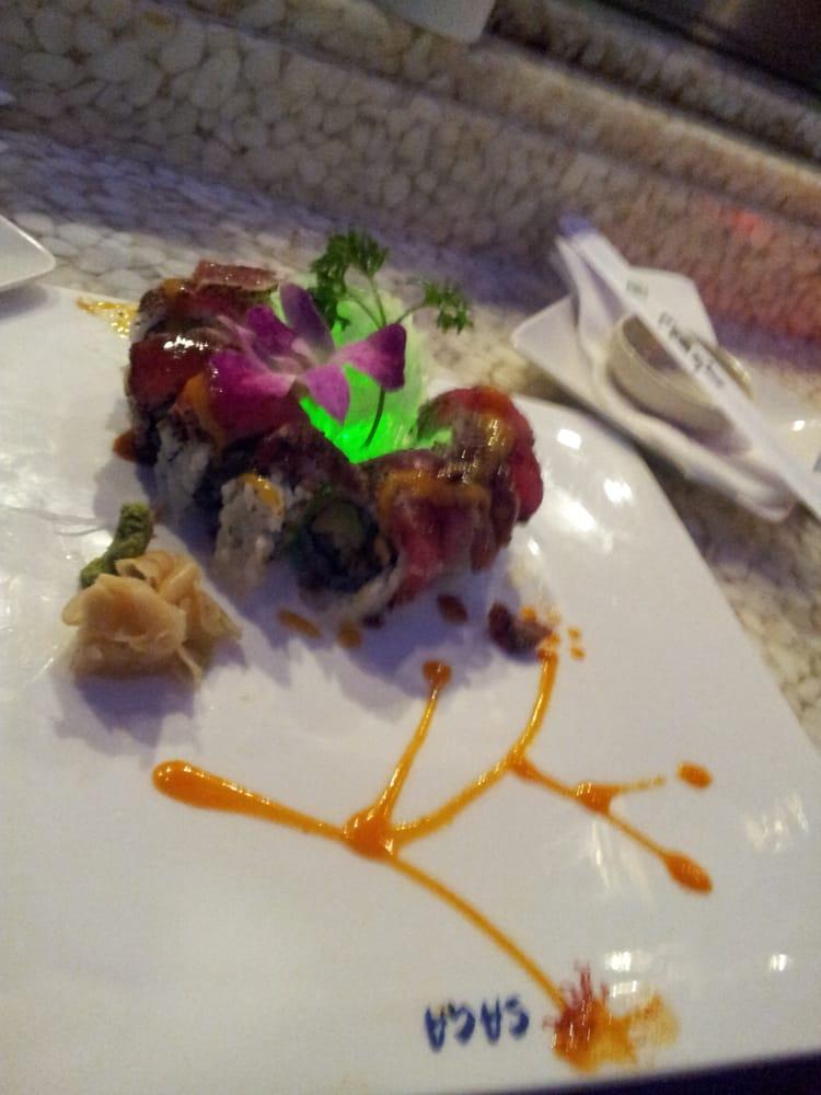 Amazing tuna roll yelp for Asia sushi bar and asian cuisine mashpee