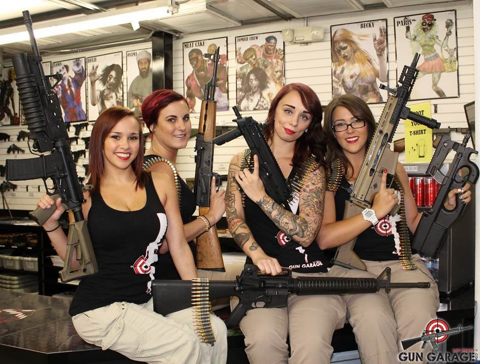 Our range hosts are always happy to help you choose the for Gun garage las vegas