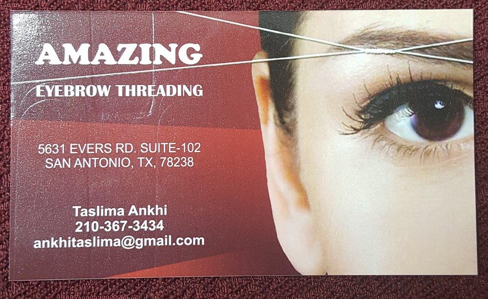 Photos For Amazing Eyebrow Threading Yelp