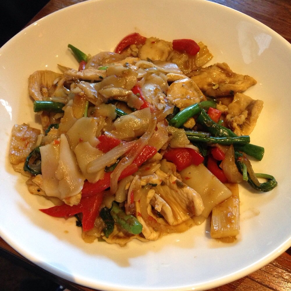 Chicken Pad Krapow Lunch Special