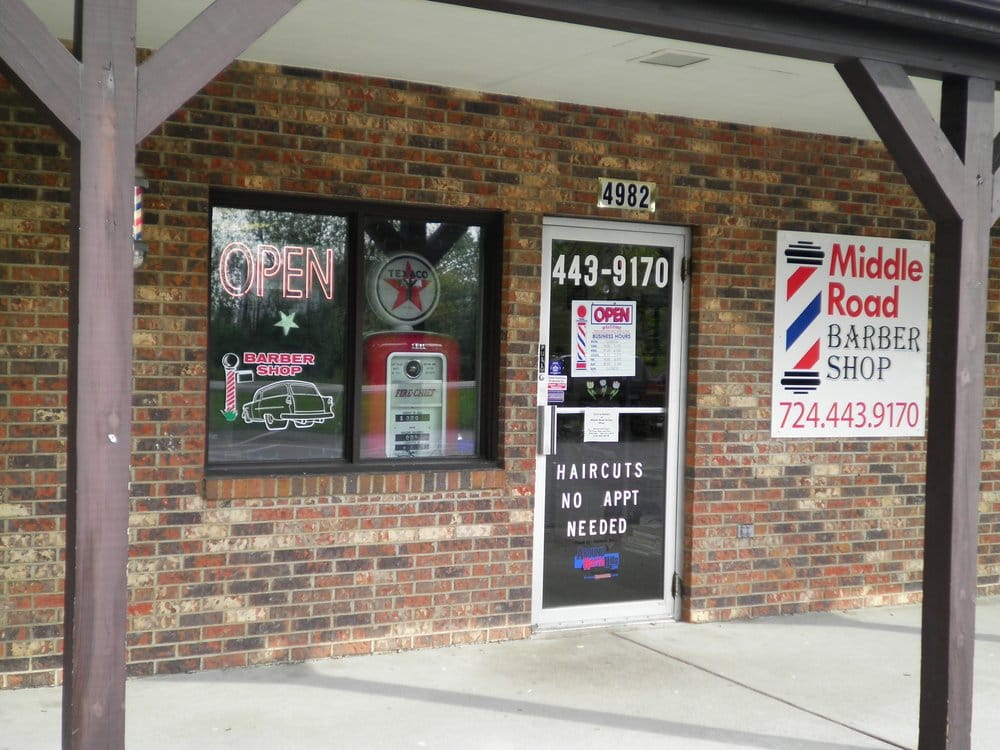 Middle Road Barber Shop: 4982 Middle Rd, Gibsonia, PA