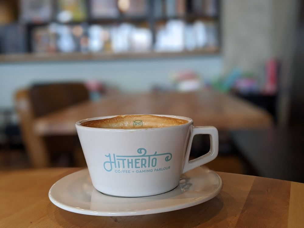 Hitherto Coffee and Gaming Parlour: 1558 N State St, Greenfield, IN
