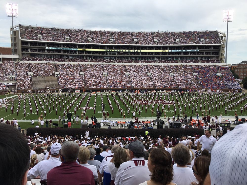 Photo of Davis Wade Stadium: Starkville, MS