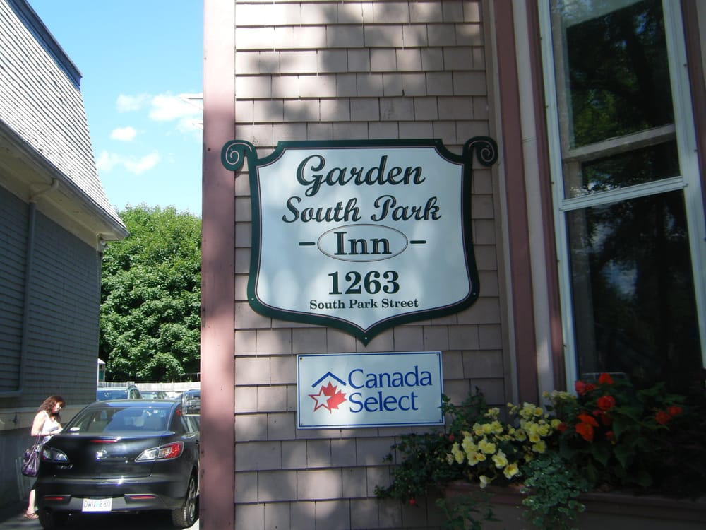 Garden south park inn bed breakfast 1263 s park st for Garden rooms halifax