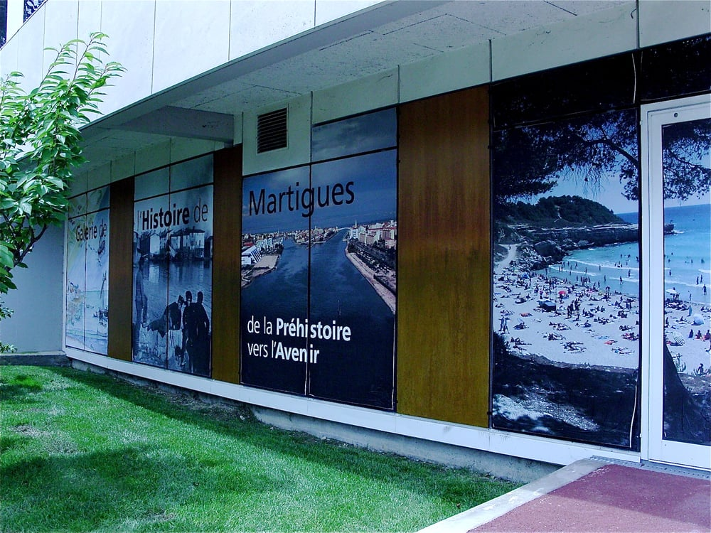 La galerie de l histoire de martigues museums rond for Au rond point de la piscine