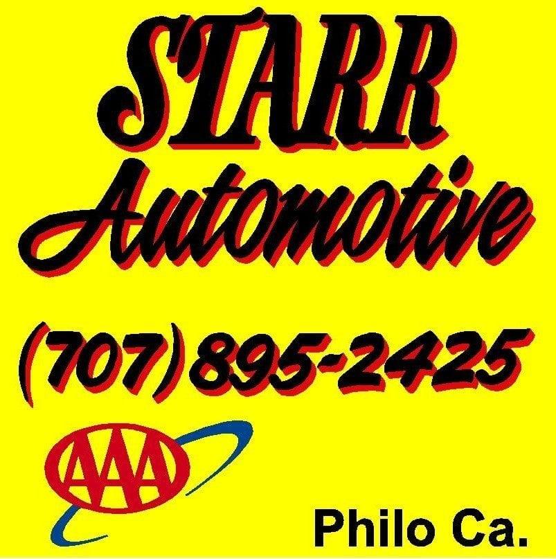 Starr Automotive: 8350 Hwy 128, Philo, CA