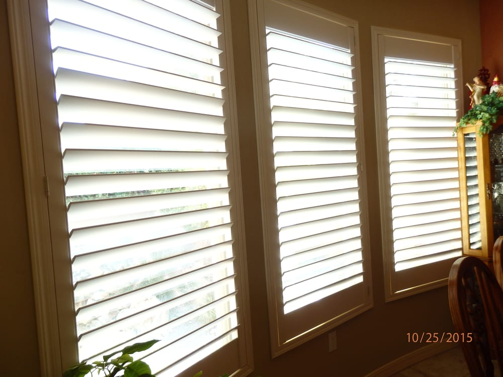 Norman Shutters Installed By Jc Blinds Yelp